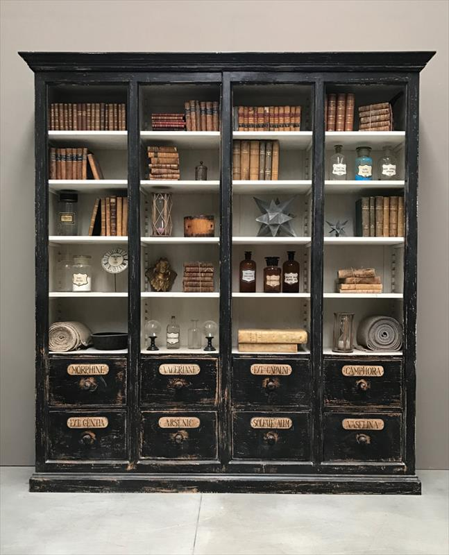 Librerie e armadi in stile provenzale, shabby chic e country - Rotini.it